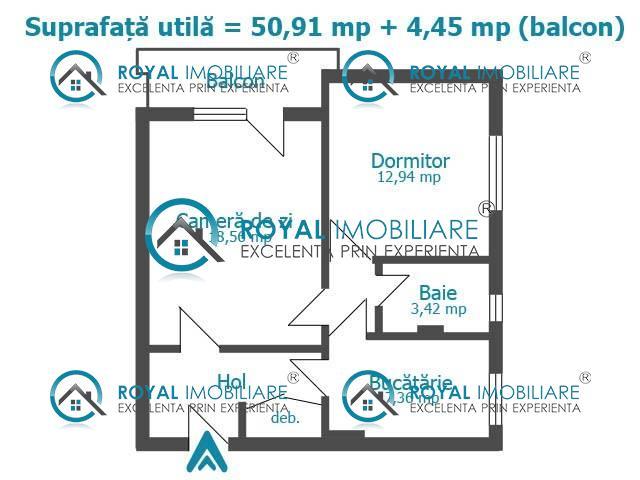 Royal Imobiliare   vanzari 2 camere