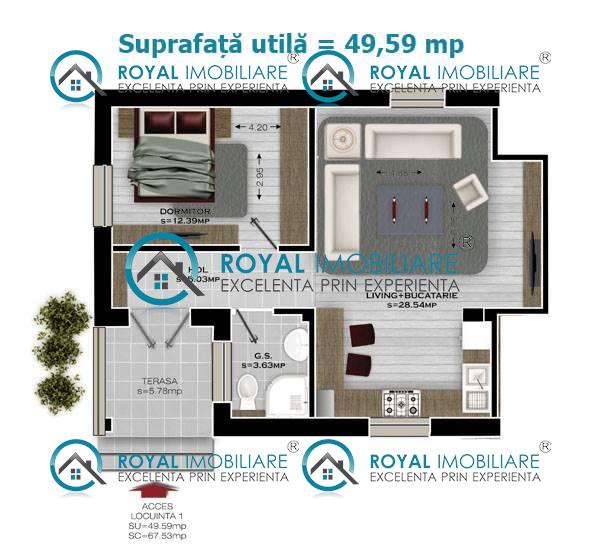Royal Imobiliare   vanzari apartamente bloc 2019