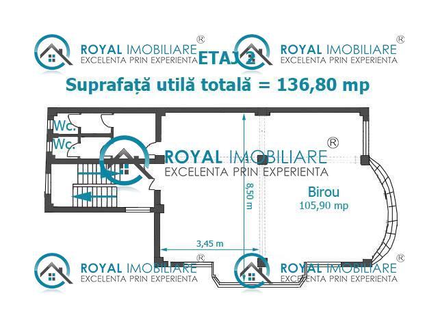 Royal Imobiliare   Inchiriere spatiu Birouri zona Mihai Bravu