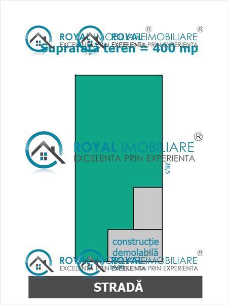 Royal Imobiliare   Vanzare teren intravilan zona Marasesti
