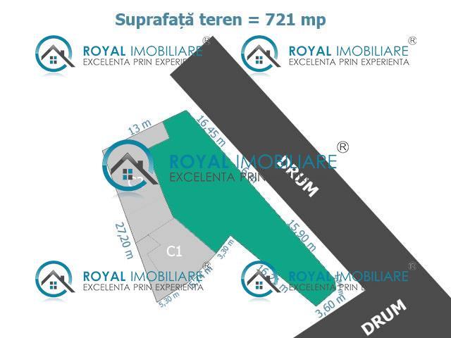 Royal Imobiliare   teren de vanzare in Ploiesti, zona Ana Ipatescu