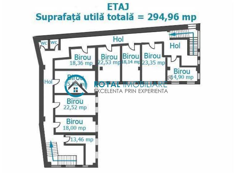 Royal Imobiliare   Inchirieri birouri Ultracentral