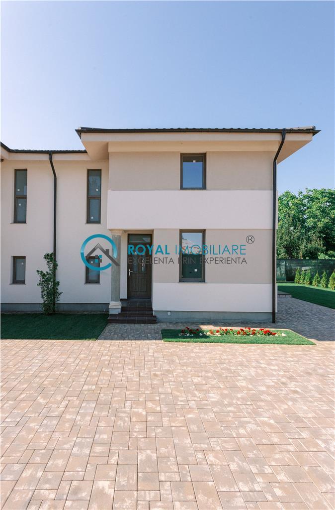 Royal Imobiliare  vila in cartier privat Paulesti, comision 0%