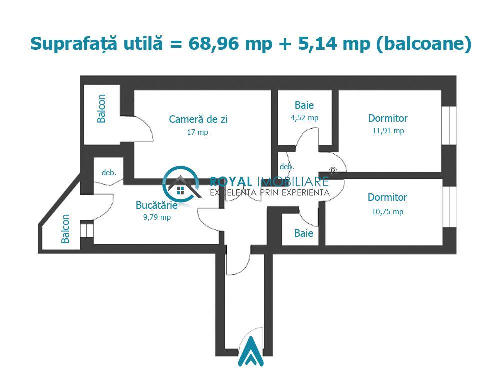 Royal Imbiliare   Vanzari apartamente Ultracentral