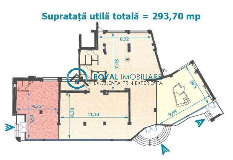 Royal Imobiliare   Inchirieri spatii comerciale Ultracentral