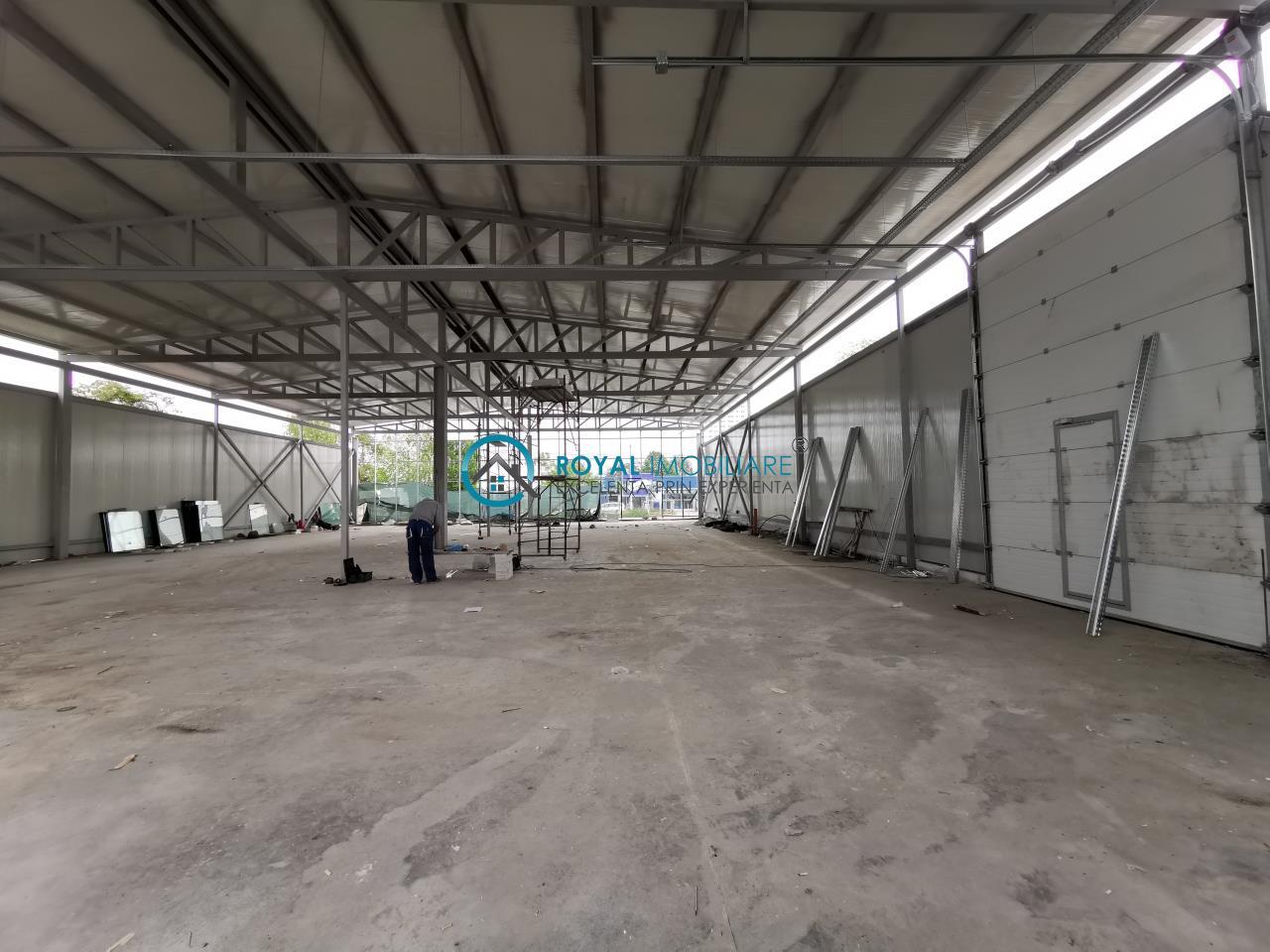 Royal Imobiliare   Inchirieri spatii Industriale/Hale zona Vest