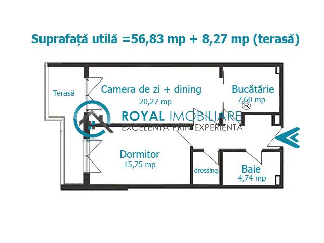 Royal Imobiliare   Vanzari apartamente Bloc Nou