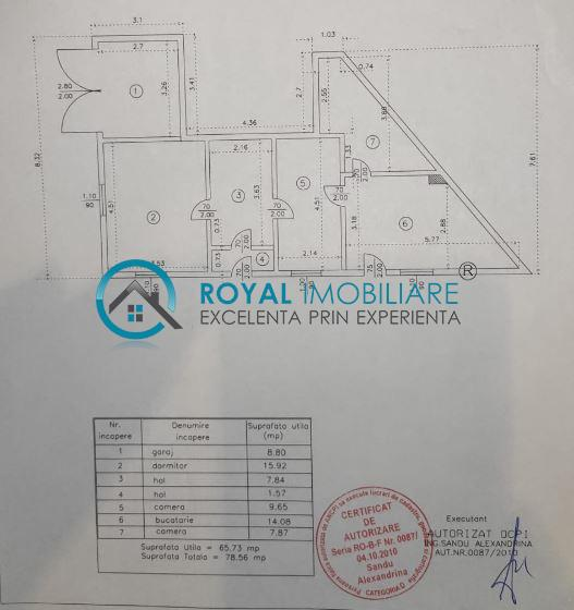 Royal Imobiliare   Vanzare Casa zona Sala Sporturilor