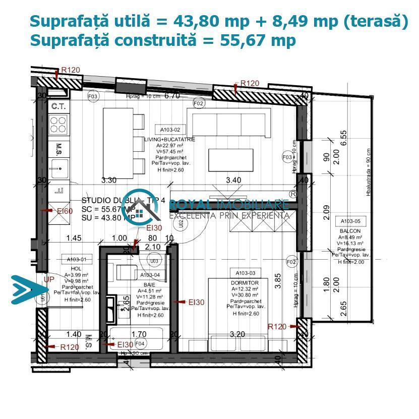 Royal Imobiliare   vanzari 2 camere, bloc nou, zona Marasesti