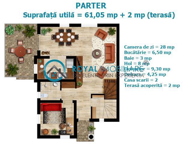 Royal Imobiliare  Vila in cartier privat Paulesti