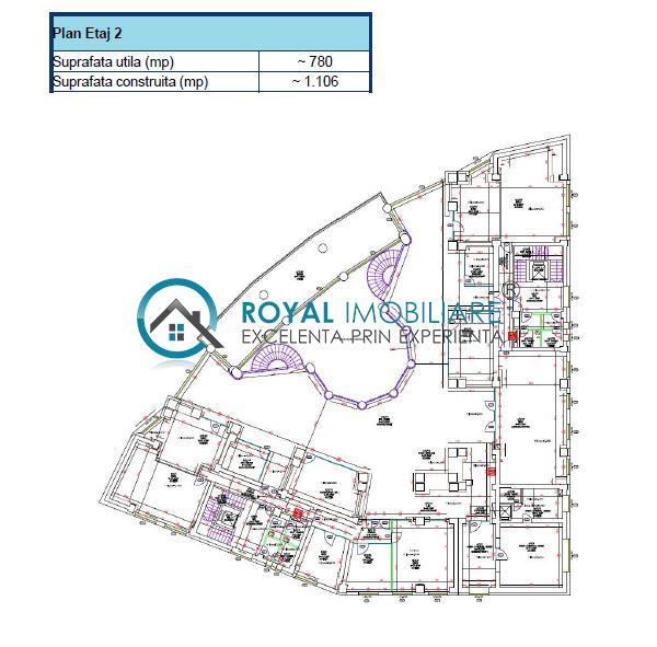 Royal Imobiliare   Cladire birouri P+6E, zona Ultracentrala