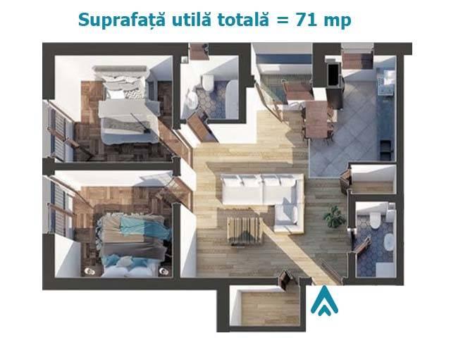 Royal Imobiliare   vanzari apartamente, bloc 2019