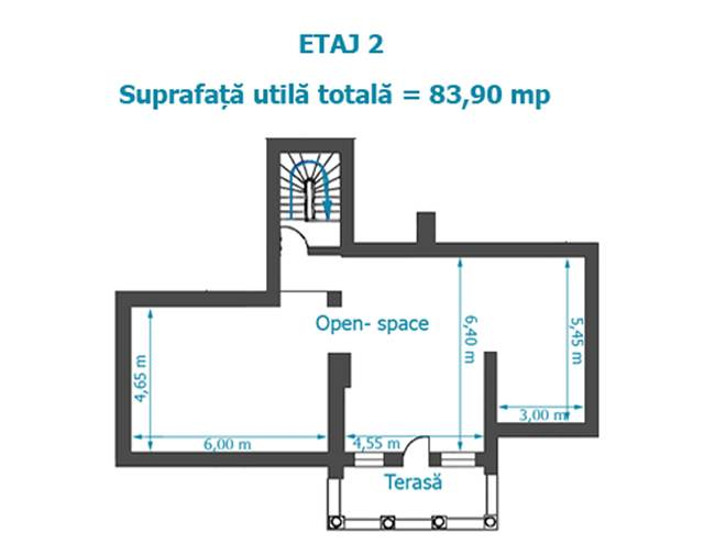 Royal Imobiliare   spatiu de birou de vanzare in Ploiesti, zona Ultracentral