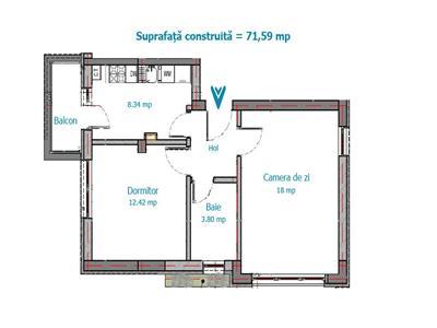 Royal Imobiliare   vanzari apartamente noi, zona Malu Rosu