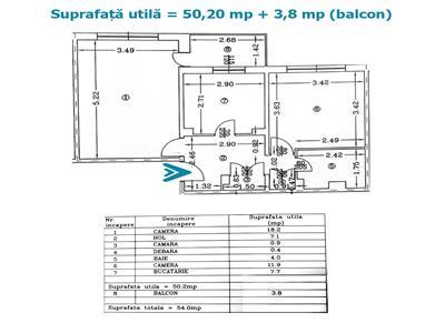 Royal Imobiliare- Vanzari 2 camere zona Enachita Vacarescu