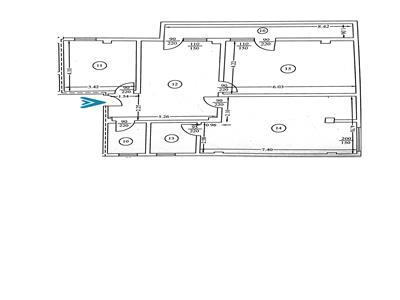 Royal Imobiliare   Vanzare Apartament 3 camere bloc nou