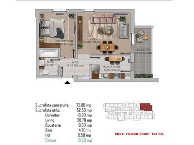 Royal Imobiliare   Vanzari apartamente bloc nou B dul Bucuresti