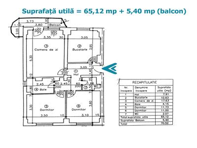 Royal Imobiliare   vanzari 3 camere, Ultracentral