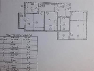 Royal Imobiliare - Vanzare apartament 3 camere, zona Cantacuzino